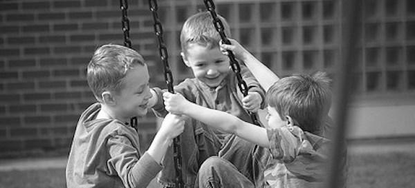 School Children enjoy Story deBeer