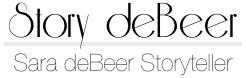 Sara deBeer • Storyteller Logo